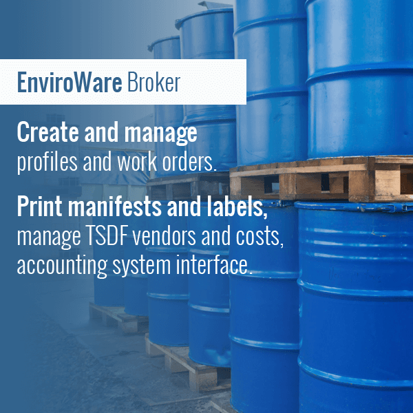 Waste Broker Software
